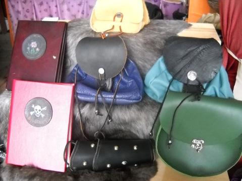 An assortment of goods